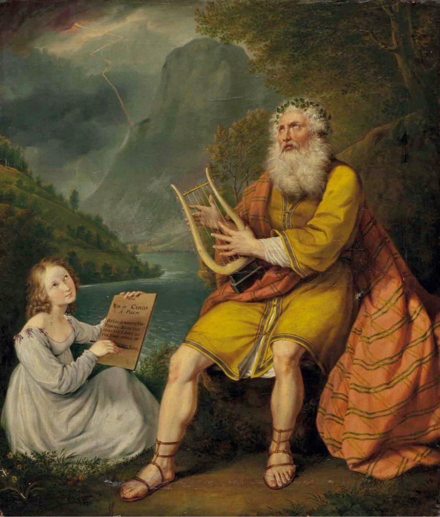 Joseph Robert von Langer (1783-1846) Gesänge des Ossian