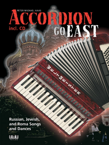 "cover photo ""Accordion GO EAST"" by Peter M. Haas"