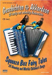 Titelbild Geschichten für Akkordeon von Peter M. Haas im AMA-Verlag