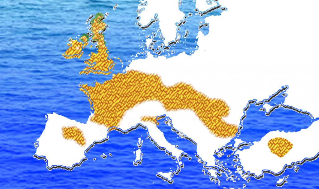 """Die """"keltische"""" Kultur der Eisenzeit erstreckte sich weit über Europa"""