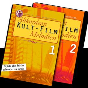"""Titelbild """"Kultfilm-Melodien"""" von Peter M. Haas"""