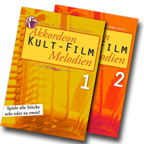 "Cover Foto ""Akkordeon KULT-FILM Melodien"" von Peter M. Haas"