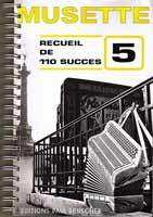 "Notenbuch-Cover ""Musette_success"""