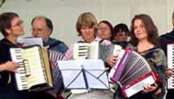 Akkordeon-Schüler von Peter M. Haas in Berlin