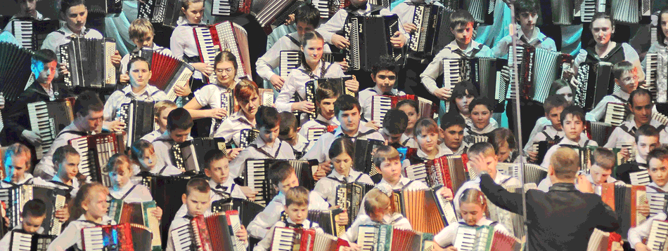 Akkordeon-Festival Coupe Mondiale in Rostow am Don
